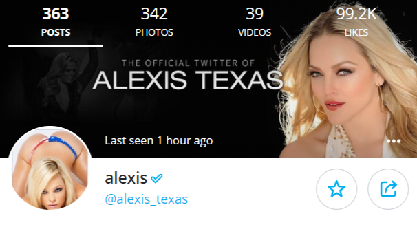 alexis texas only fans